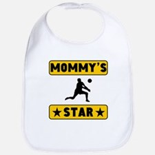 Mommys Volleyball Star Bib