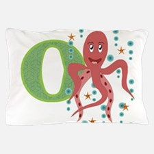 O is for Octopus Pillow Case