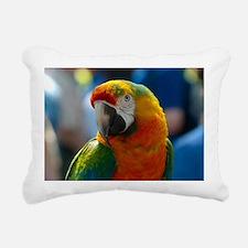 Macaw Rectangular Canvas Pillow