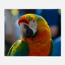 Cool Macaw Throw Blanket