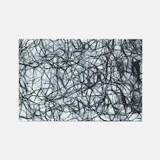 Neurons Rectangle Magnet