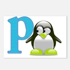 P is for Penguin Postcards (Package of 8)
