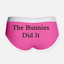 The Bunnies Did It  Women's Boy Brief