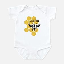 Honeycomb Queen Bee Infant Bodysuit