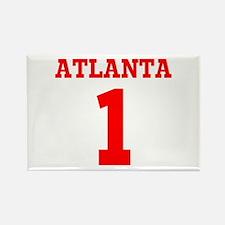 ATLANTA #1 Rectangle Magnet