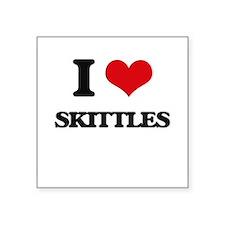 "Cute Skittles Square Sticker 3"" x 3"""