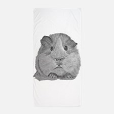 Guinea Pig by Karla Hetzler Beach Towel