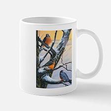 SRose Winter Robins Mugs