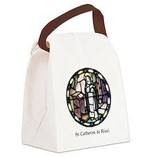 St Catherine de Ricci Canvas Lunch Bag