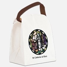 St Catherine de Ricci Canvas Lunch Bag