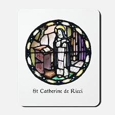 St Catherine de Ricci Mousepad