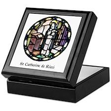 St Catherine de Ricci Keepsake Box