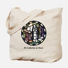 St Catherine de Ricci Tote Bag