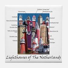 The Netherlands Tile Coaster