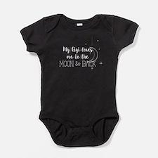 My Gigi Loves me to the Moon & Back Baby Bodysuit