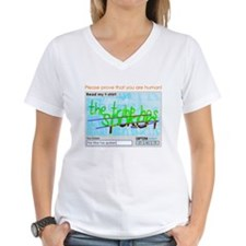 Captcha the tribe has spoken T-Shirt