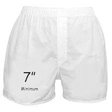 "7"" Minimum Boxer Shorts"