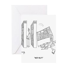 Self Help Cartoon 9299 Greeting Card