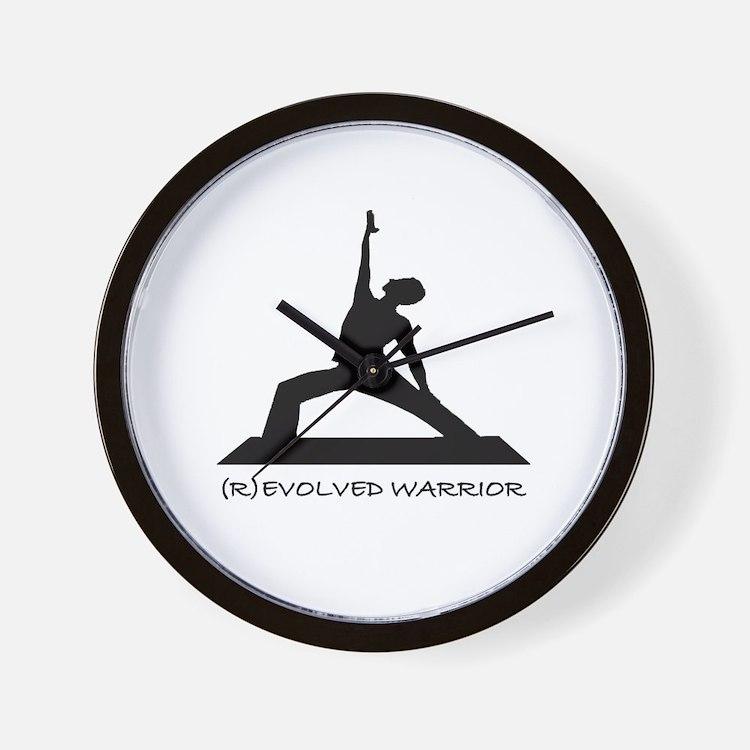 ®evolved Warrior Wall Clock