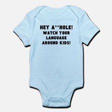 Watch Your Language Body Suit