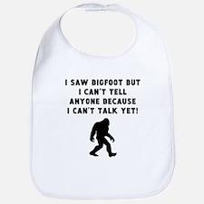 I Saw Bigfoot Bib