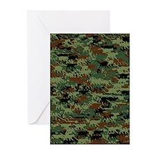 Kittyflage Greeting Cards