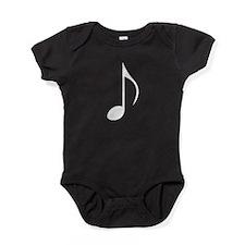 Eighth Note Baby Bodysuit