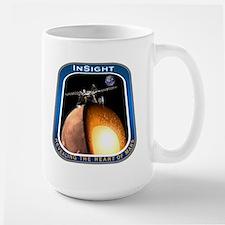InSight Mission Logo Large Mug