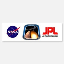 InSight Mission Logo Bumper Bumper Sticker