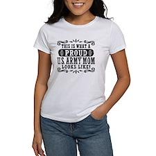 Proud Army U.S. Mom Tee