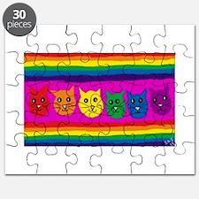 Gay rainbow cats Puzzle