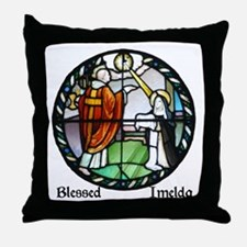 Blessed Imelda Throw Pillow