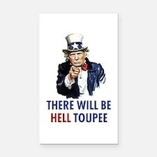 Uncle Sam Trump Rectangle Car Magnet