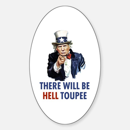 Uncle Sam Trump Decal