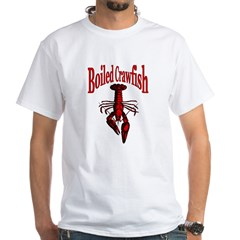 Crawfish White T-shirt