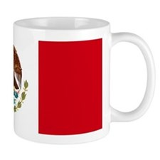 MEXICO FLAG Mugs