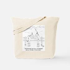 Migraine Cartoon 9280 Tote Bag