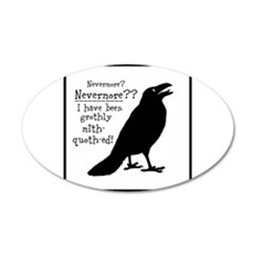 Quoth the Raven Wall Decal