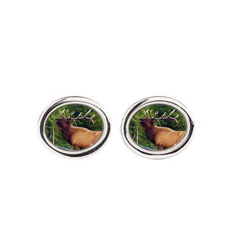 The Bugler Oval Cufflinks