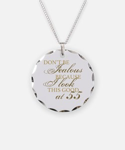 Look Good 55th Birthday  Necklace