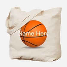 Personalized Basketball Ball Tote Bag
