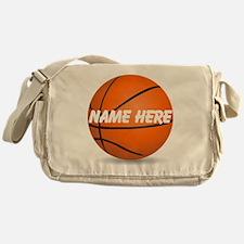 Personalized Basketball Ball Messenger Bag
