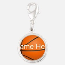 Personalized Basketball Ball Charms