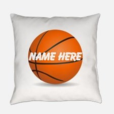 Personalized Basketball Ball Everyday Pillow
