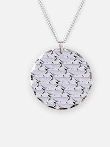 Blue Catfish Pattern Necklace