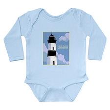 Cute Sandy hook lighthouse Onesie Romper Suit