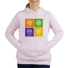 Kamen Rider Club Gaim Women's Hooded Sweatshirt