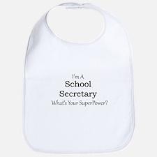 School Secretary Bib