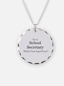 School Secretary Necklace