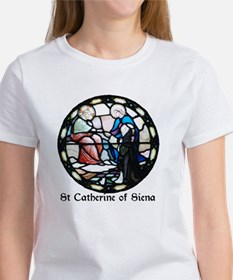 St Catherine of Siena Women's T-Shirt